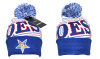 OES Eastern Star knit hat with pom pom (4 designs)